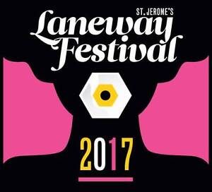 St Jarome Laneway Festival in Melbourne - x2 Tickets for sale Blackburn Whitehorse Area Preview