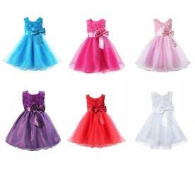 Pretty gowns for pretty princesses.
