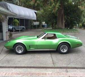 1975 corvette convertible 4speed