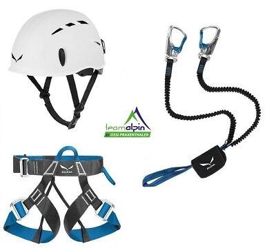 Klettersteigset Salewa Premium Attac + Salewa Evo Gurt + Salewa Toxo Helm