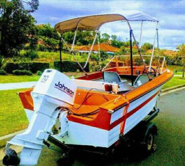 AS BRAND NEW BOAT 70HP JONO LOW HRS FULLY RENEWED INSIDE & OUT RE