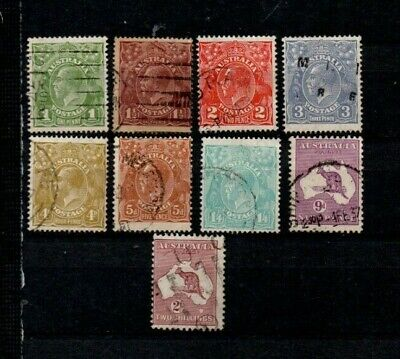 A very nice 1930's Australian  group of issues