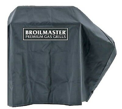 Broilmaster Gas Grill Black Large Cover For Use With One Side Shelf DPA109 - Broilmaster Grill Cover