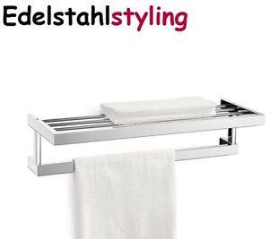 Zack 40024 linea toallero toallero de barra acero for Toallero acero inoxidable