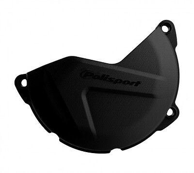 New Polisport Clutch Cover Protector YZ 250 00-18 WR 250 16 Black MX Enduro