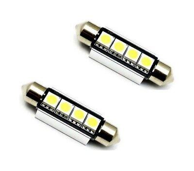 2x LAMPEN SOFFITTEN 39mm 4x5050-SAMSUNG-SMD-CHIP XENON WEISS CANBUS 2 STÜCK ()
