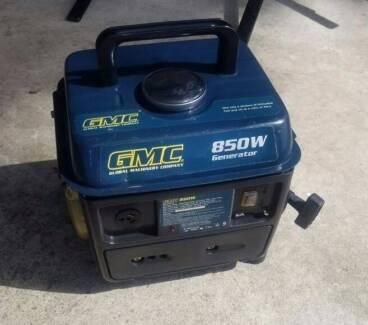 GMC GENERATOR 240 VOLT 10 AMP OUTLET 2 HP 850 WATTS AC
