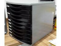Desktop filing drawer cabinet