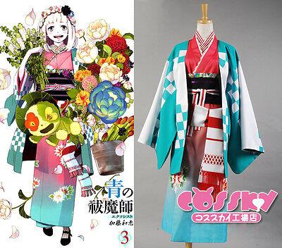 Shiemi Moriyama Cosplay Kostüm (Ao no blue Exorcist Shiemi Moriyama Cosplay Kostüm costume Kleid new Kimono)