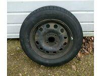 Ford Focus mk 1 spare wheel