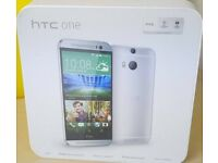 New HTC One M8 16GB Unlocked SILVER Smartphone Android Mobile Phone Quad-Core