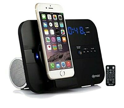 Dpnao dpnao 5 in 1 iPhone Charger Dock Station with Alarm Clock FM Radio