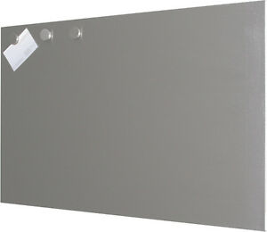 Magnettafel 60 x 80 cm aus EDELSTAHL Whiteboard Magnetwand Memoboard Board Pinn