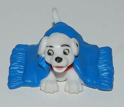 "1.5"" Mini Dog Under Blue Blanket PVC Action Figure Disney 101 Dalmations"