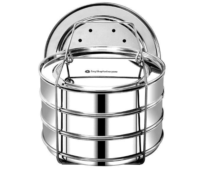 easyshopforeveryone stackable insert pans accessories for 6