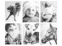 Custom Pet & Family Portraits