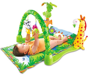 fisher price rainforest 1-2-3 musical gym play mat