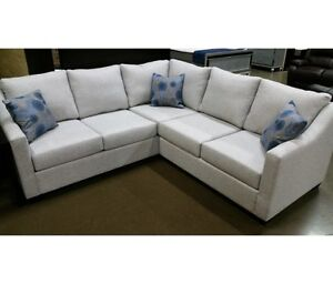 The Dover sectional, Made in BC, 100 + fabrics, many sizes