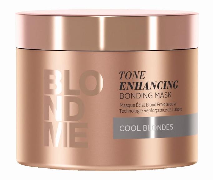 Schwarzkopf Blondme Tone Enhancing Bonding Mask 200ml Cool Blondes Haarkur Maske