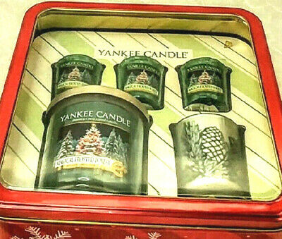 Yankee Candle Magical Frosted Forest Five Piece Gift Set Box Christmas Old Label