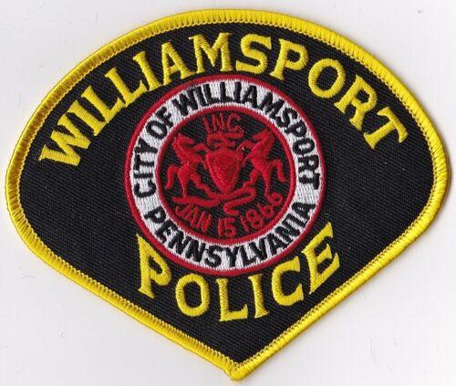 Williamsport Police Patch Pennsylvania PA