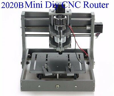 Pcb Milling Machine Cnc 2020b 300w Diy Cnc Wood Carving Mini Engraving Machine