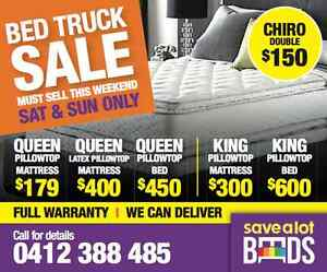 MATTRESS TRUCK SALE. This weekend only. Save 70% on your mattress Mildura City Preview