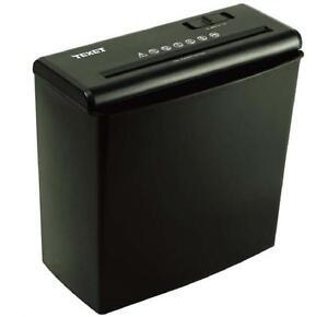 Broyeur papier texet a4 lectrique carte document poubelle for Poubelle broyeur