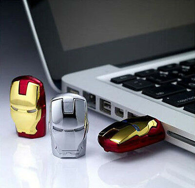 8GB/16GB Iron Man  USB 2.0 Flash Drive