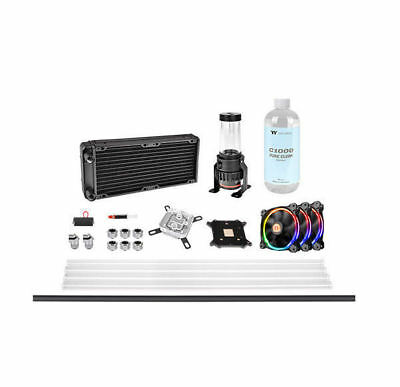Thermaltake Pacific M240 D5 Hard Liquid Cooling Kit/Set, CL-W216-CU00SW-A ()