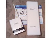 ALPHA / SOLWISE USB WiFi ROUTER REPEATER VERY LITTLE USE AS WAS A SPARE
