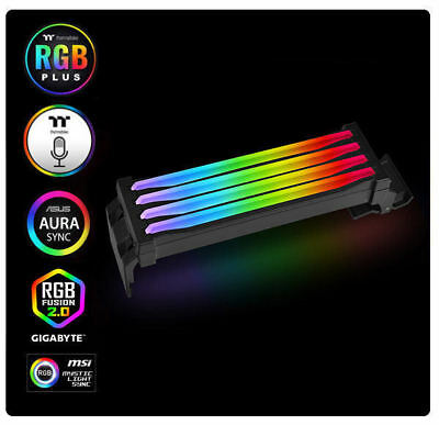- Thermaltake CL-O020-PL00SW-A Pacific R1 Plus DDR4 Memory Lighting Kit