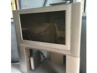 "JVC 26"" CRT TV & SONY FREEVIEW SET TOP BOX - BOTH FULLY WORKING"