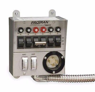 Reliance Controls 30216a Protran 6 Circuit Power Transfer Switch