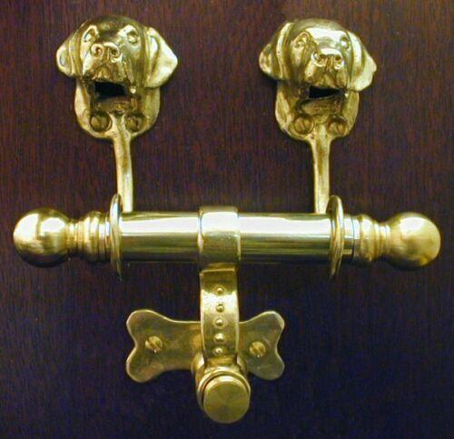 LABRADOR RETRIEVER Bronze DUET Door Knocker