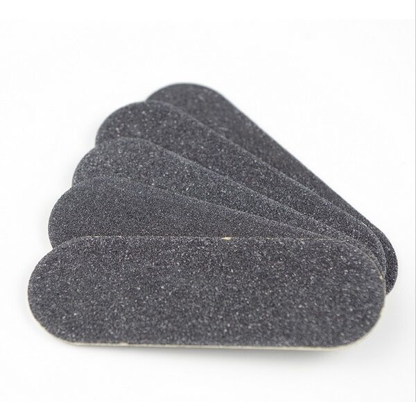 Mini Nagelfeile Maniküre Pediküre Fingernägel schwarz Einweg 50mm