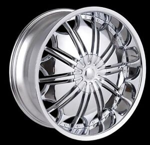 New!!!! 22' CHROME - RIMS with TIRES - tf706 f150 escalade 1500