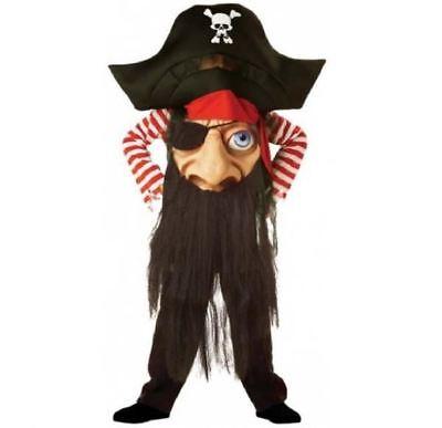 Kinder Pirate Verrückter Hutmacher Halloween Horror Hut Kostüm Kleid Outfit ()
