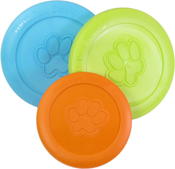 WEST PAW DESIGN ZISC sm/lg Flexible Made USANon-Toxic Frisbe
