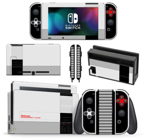 Retro NES Nintendo Entertainment System Skin Wrap for Nintendo Switch Console