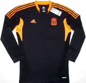 11-12-Liverpool-GK-TECHFIT-Player-Issue-Football-Shirt-Soccer-Jersey-Top-Kit