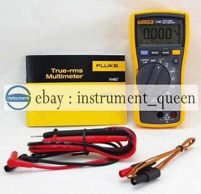 Fluke 116 116c Multimeter Temperature Microamps Hvac
