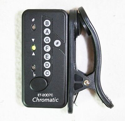 Chromatisches Stimmgerät / Clip Tuner ET2007C