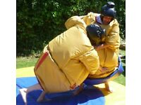 Commercial Adult sumo suits and mats