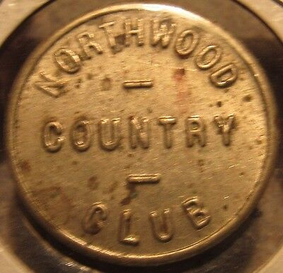 For sale Vintage Northwood Country Club North St. Paul, MN Trade Token - Minnesota Minn.