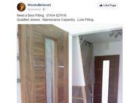Joiner. Door/Floor Fitting Service Nottingham. City and Guilds Qualified .
