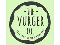 Front of House staff wanted for The Vurger Co's first permanent restaurant!