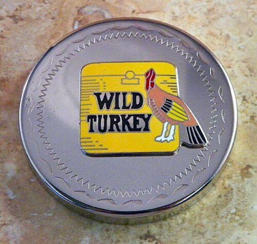 Vintage Wild Turkey Bourbon Snuff Canister Lid