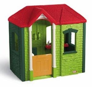 Casetta bimbi gioco con camino angolo cucina e seggiolino casa giardino bambini ebay - Casa plastica per bambini ...