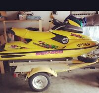 Very Clean**  97' Seadoo XP trade for sled.